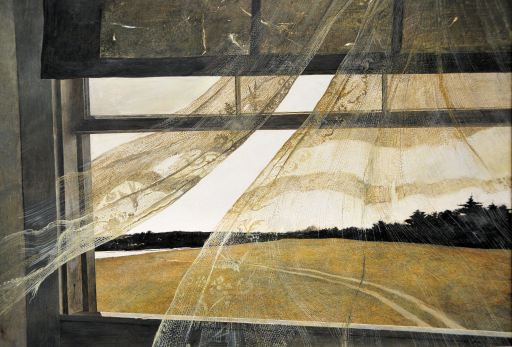 Andrew Wyeth's Wind from the Sea