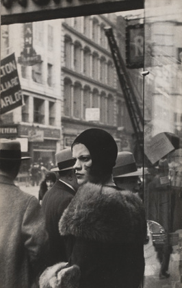 Walker Evans Girl on Fulton Street
