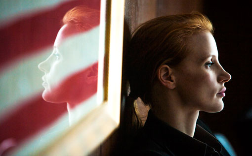 Director Kathryn Bigelow and star Jessica Chastain hold a mirror up to the manhunt for Bin Laden in ZERO DARK THIRTY.