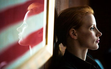 Bigelow and Chastain took out Bin Laden in December in ZERO DARK THIRTY.