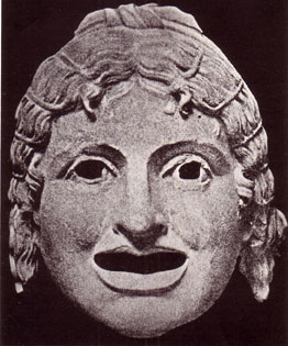Actress - Greek Mask