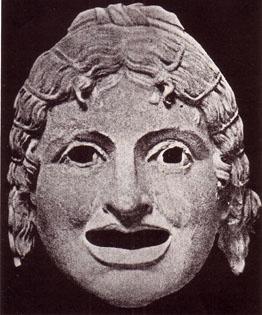 Actress - Greek Mask