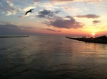 Cape May Lewes Ferry Sunset 2