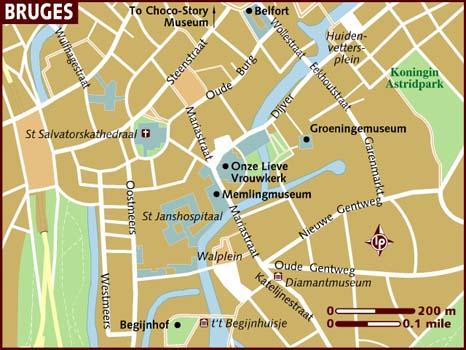 Bruges Map
