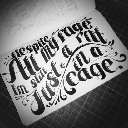 Rat in a Cage Lyrics