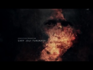 True Detective - Opening Credit Shot Burning Face