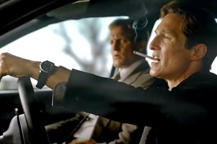 True Detective - Rust and Marty in the Car