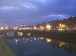 Liffey at Night 1
