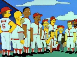 Simpsons Softball Episode